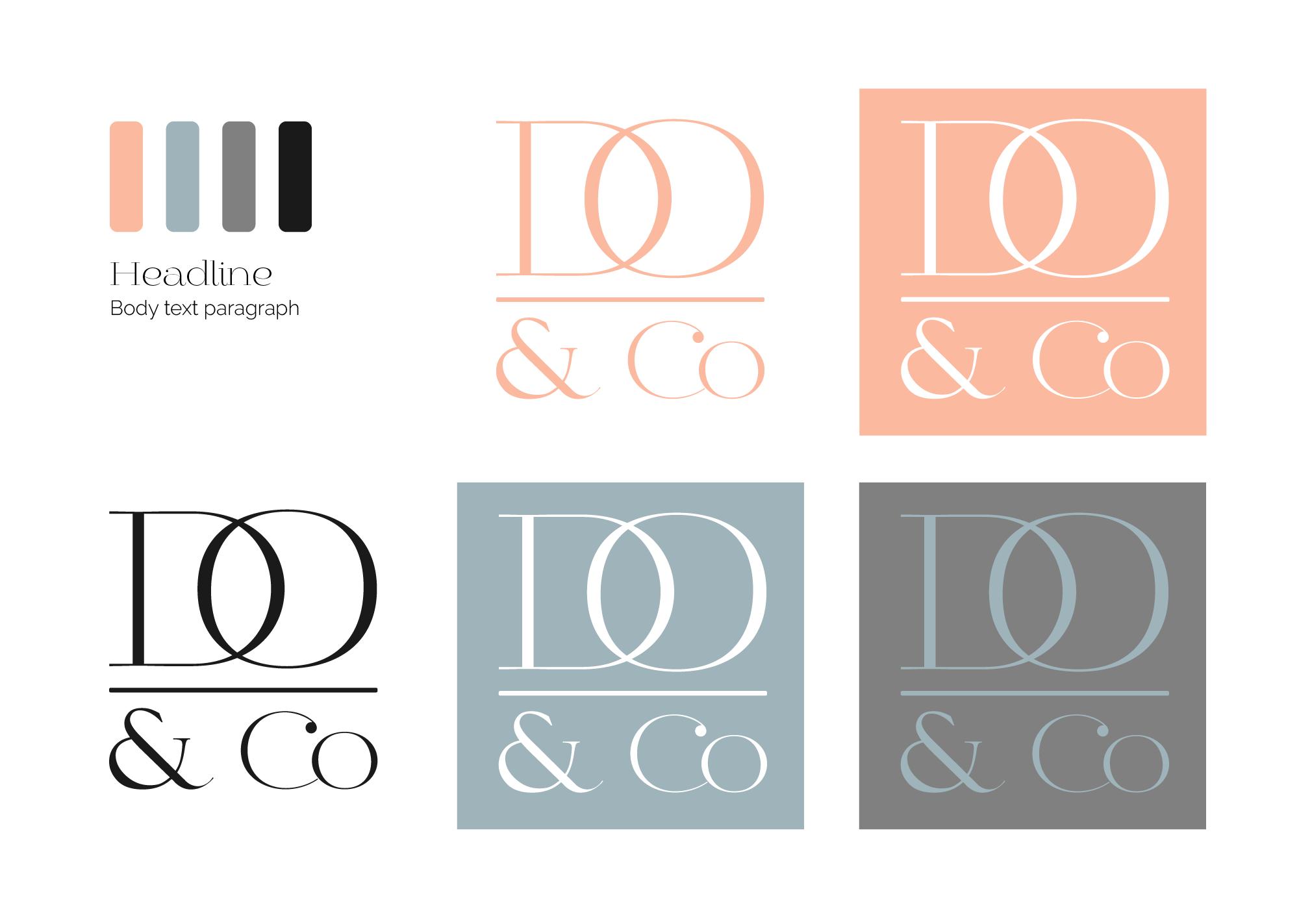 Real Estate Logo Design Board