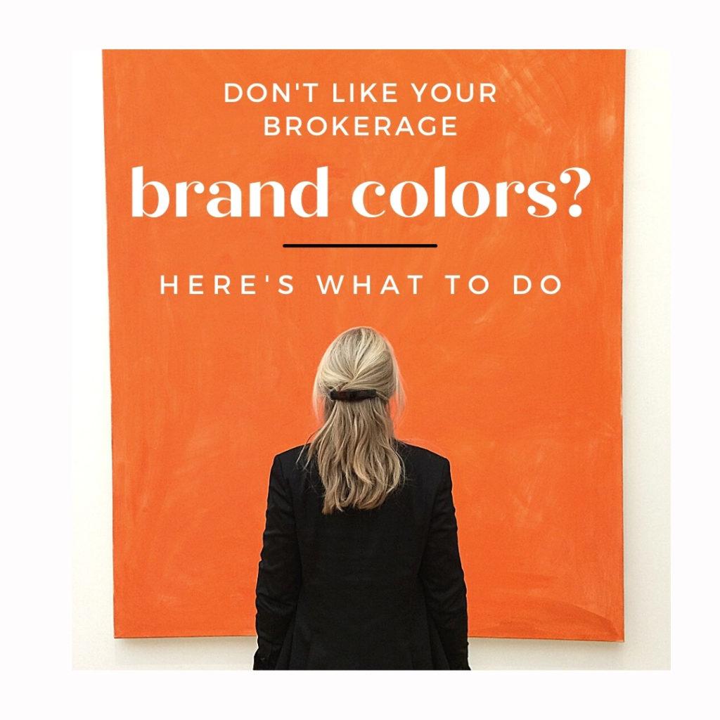 real estate marketing brokerage brand colors