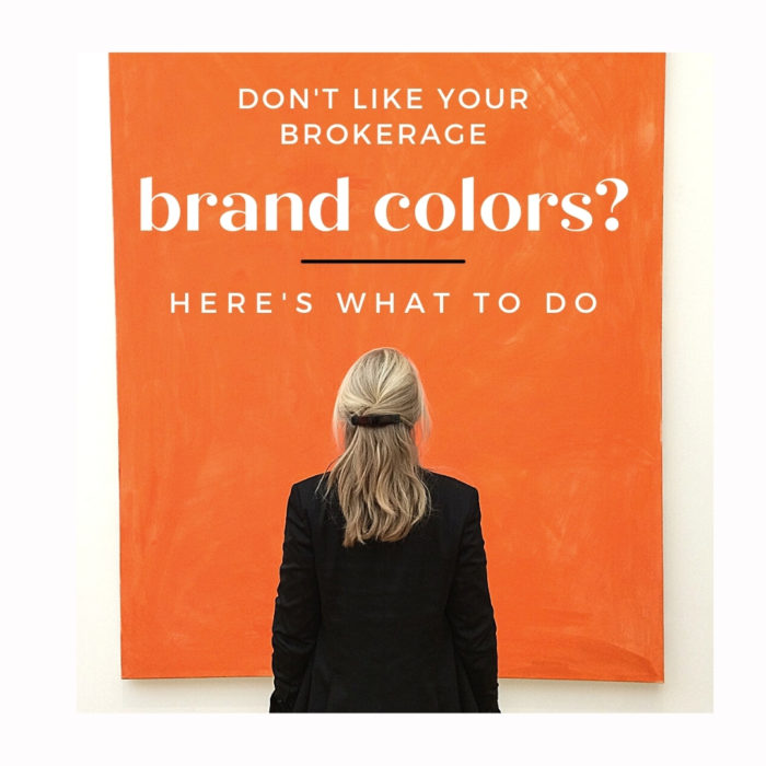 real estate marketing brokerage brand colors