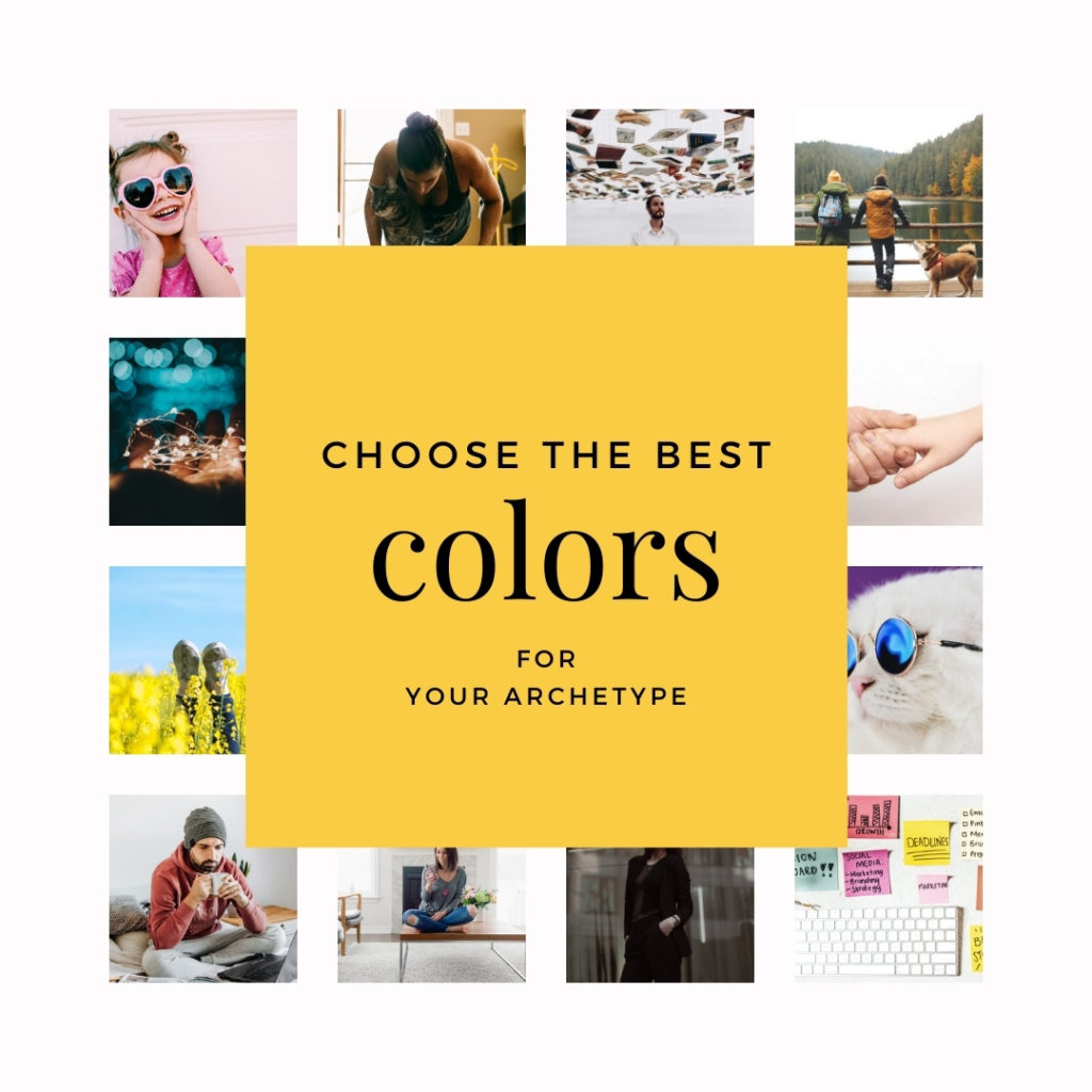 choose the best brand colors for your archetype real estate