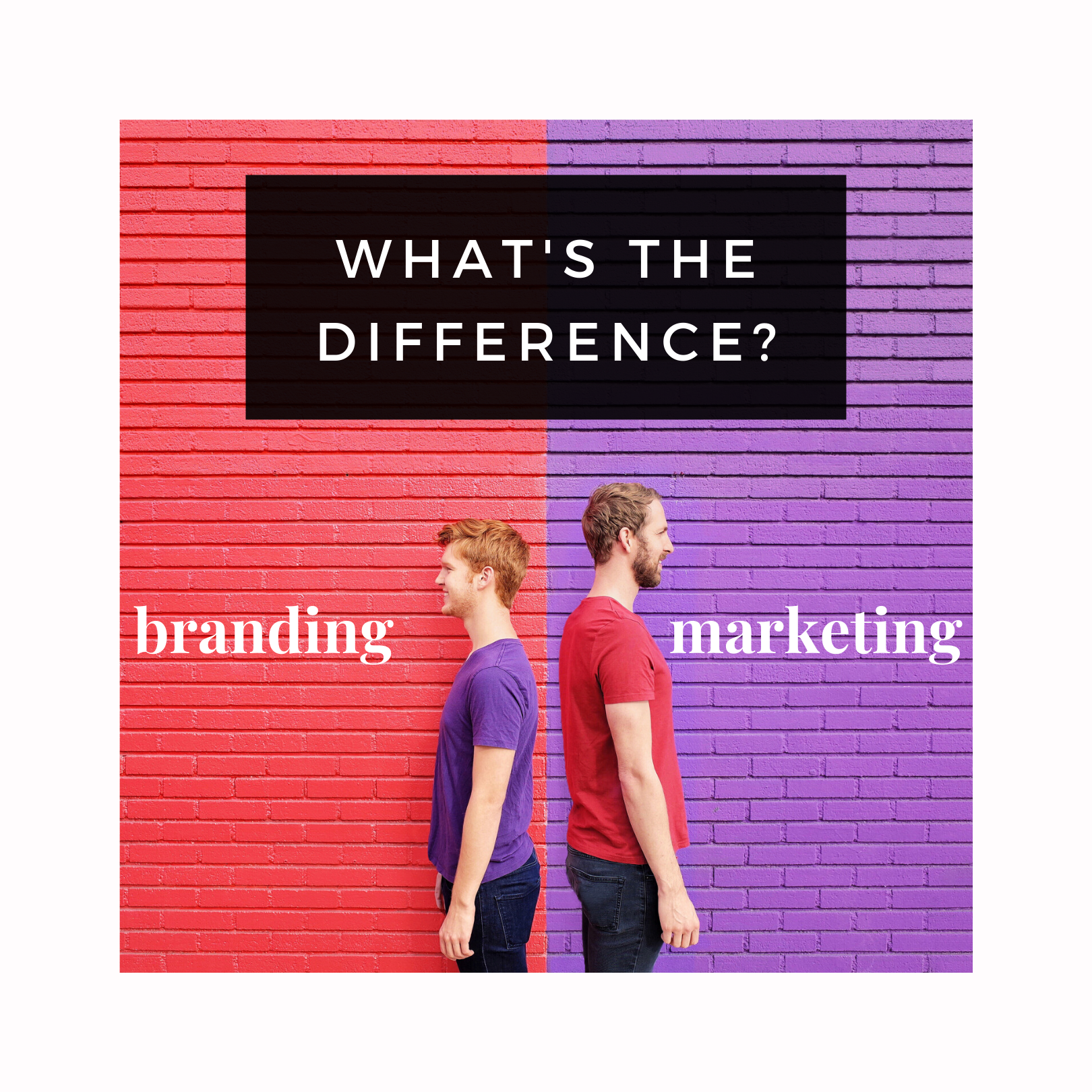 difference between marketing and branding real estate